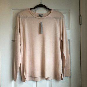 Sweet Romeo Pink Sweater - Size: Large NWT